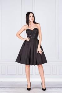 Sukienka N/A gorsetowa bez rękawów mini