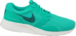 Niebieskie buty sportowe Nike z tkaniny sznurowane kaishi