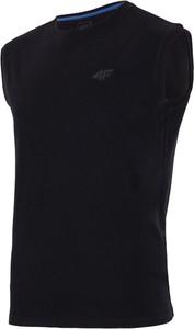 Czarna koszulka 4F