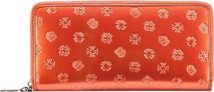 Pomarańczowy portfel Wittchen