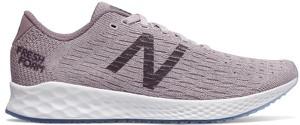 Różowe buty sportowe New Balance sznurowane w sportowym stylu