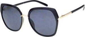 Czarne okulary damskie Joker