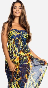 Sukienka Feba z tkaniny w stylu casual maxi
