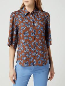 Brązowa koszula Marc O'Polo z bawełny w stylu casual
