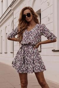 Sukienka Shopaholics Dream z dekoltem w kształcie litery v mini