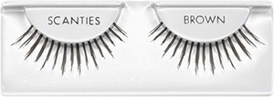Ardell Lashes Brązowe Sztuczne Rzęsy Na Pasku Natural Scanties Brown 1 para