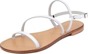 Sandały Summery ze skóry w stylu casual z płaską podeszwą