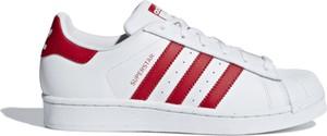 Trampki Adidas ze skóry z płaską podeszwą