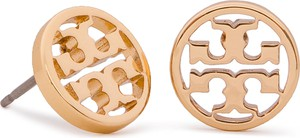 Kolczyki TORY BURCH - Logo Circle Stud Earring 11165518 Tory Gold 720