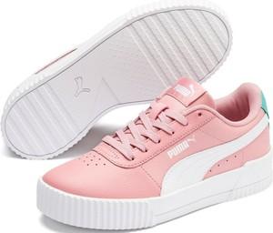 Różowe trampki i tenisówki dziecięce Puma, kolekcja wiosna 2020