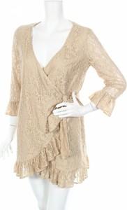 Sukienka Flavio Castellani z długim rękawem