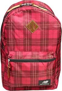Czerwony plecak New Balance