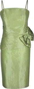 Zielona sukienka Fokus
