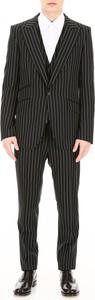 Czarny garnitur Dolce & Gabbana z wełny