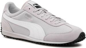 Buty sportowe Puma z nubuku sznurowane