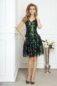 d3fd076f7c sukienka cekiny rozkloszowana - stylowo i modnie z Allani