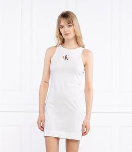 Sukienka Calvin Klein w stylu casual bez rękawów