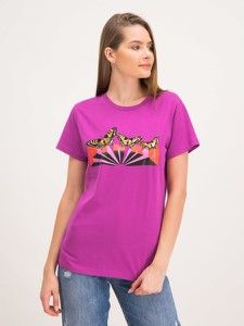 T-shirt Pinko w stylu casual