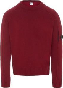 Czerwony sweter C.P. Company w stylu casual
