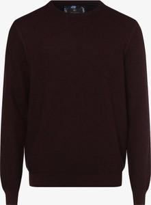 Czerwony sweter Nils Sundström z bawełny