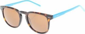 Brązowe okulary damskie Vicomte A.