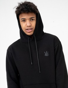 Czarna bluza Jigga Wear z bawełny w młodzieżowym stylu