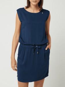 Sukienka Ragwear z krótkim rękawem mini w stylu casual