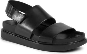 Czarne sandały Vagabond w stylu casual
