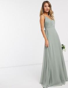 Sukienka Asos na ramiączkach maxi z dekoltem w kształcie litery v