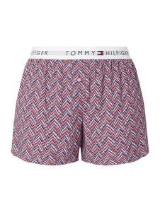 Fioletowa piżama Tommy Hilfiger w stylu casual