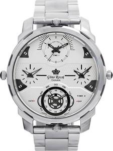 Zegarek męski Gino Rossi QUATTRO E11502B-3C1 +PUDEŁKO