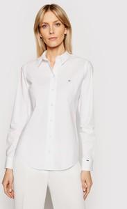 Koszula Calvin Klein z kołnierzykiem z długim rękawem