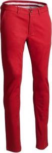 Czerwone spodnie Inesis w stylu casual