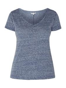 Niebieska bluzka Review z krótkim rękawem w stylu casual z dżerseju