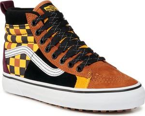 eobuwie.pl Sneakersy VANS - Sk8-Hi 46 Mte Dx VN0A3DQ522Z1 (Mte) Multi/Yellow
