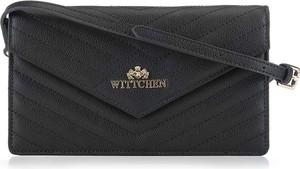 Czarna torebka Wittchen na ramię średnia