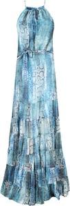 Sukienka Guess by Marciano maxi z dekoltem halter