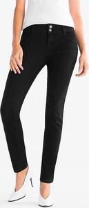 Czarne jeansy The Denim z bawełny w stylu casual