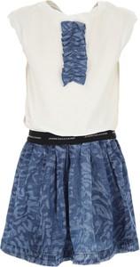Sukienka dziewczęca Galliano z bawełny