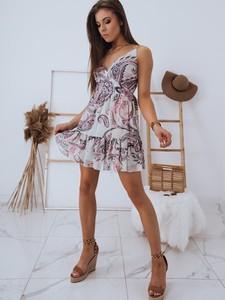 Sukienka Dstreet mini na ramiączkach z dekoltem w kształcie litery v