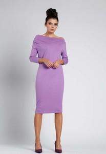 Sukienka Nommo z bawełny w stylu casual midi