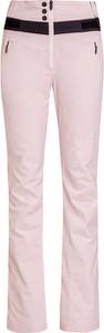 Różowe spodnie sportowe Bogner z tkaniny