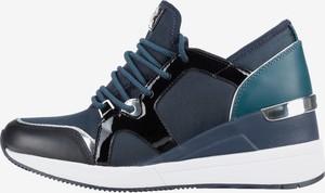 e7b451781b9e6 Sneakersy Michael Kors ze skóry w młodzieżowym stylu na platformie