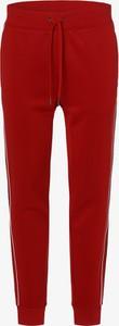 Czerwone spodnie sportowe POLO RALPH LAUREN z dresówki
