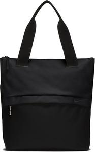 Czarna torebka Nike na ramię w sportowym stylu