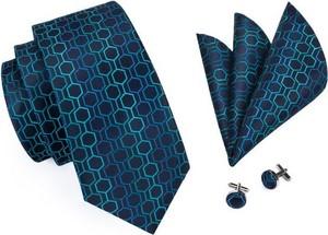 Niebieski krawat e-spinki.pl