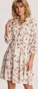 Sukienka Renee trapezowa z długim rękawem mini