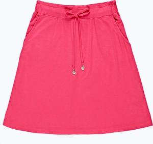 Spódnica Gate z dżerseju w stylu casual mini