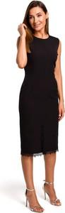Sukienka Stylove prosta z okrągłym dekoltem bez rękawów