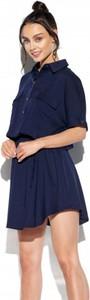 Sukienka Lemoniade w sportowym stylu koszulowa